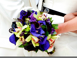 Bright Purple Bouquet